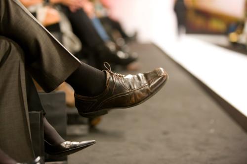 Anzug Hose und Anzug Schuhe